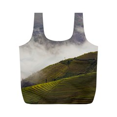 Agriculture Clouds Cropland Full Print Recycle Bags (m)