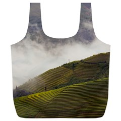 Agriculture Clouds Cropland Full Print Recycle Bags (l)