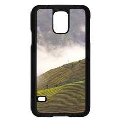 Agriculture Clouds Cropland Samsung Galaxy S5 Case (black)