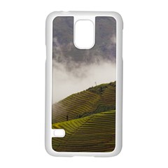 Agriculture Clouds Cropland Samsung Galaxy S5 Case (white)