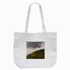 Agriculture Clouds Cropland Tote Bag (white)