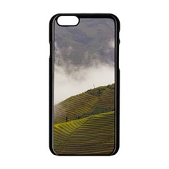 Agriculture Clouds Cropland Apple Iphone 6/6s Black Enamel Case
