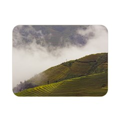Agriculture Clouds Cropland Double Sided Flano Blanket (mini)