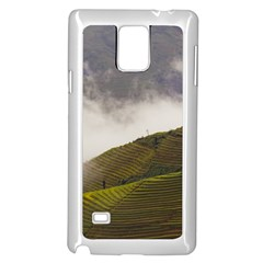 Agriculture Clouds Cropland Samsung Galaxy Note 4 Case (white)