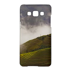 Agriculture Clouds Cropland Samsung Galaxy A5 Hardshell Case
