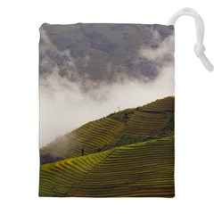 Agriculture Clouds Cropland Drawstring Pouches (xxl)