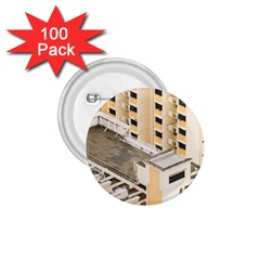 Apartments Architecture Building 1 75  Buttons (100 Pack)