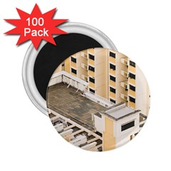 Apartments Architecture Building 2 25  Magnets (100 Pack)