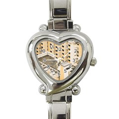 Apartments Architecture Building Heart Italian Charm Watch