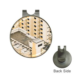 Apartments Architecture Building Hat Clips With Golf Markers
