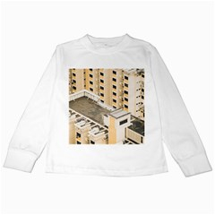 Apartments Architecture Building Kids Long Sleeve T-Shirts