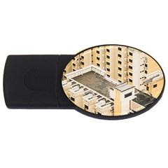 Apartments Architecture Building USB Flash Drive Oval (4 GB)
