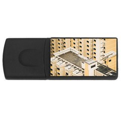 Apartments Architecture Building Usb Flash Drive Rectangular (4 Gb)