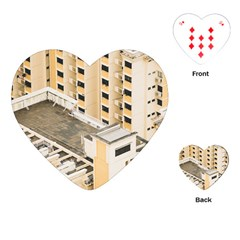 Apartments Architecture Building Playing Cards (heart)