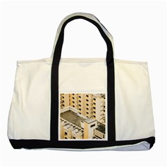 Apartments Architecture Building Two Tone Tote Bag