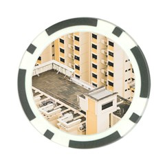 Apartments Architecture Building Poker Chip Card Guard (10 Pack)