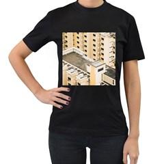 Apartments Architecture Building Women s T Shirt (black)