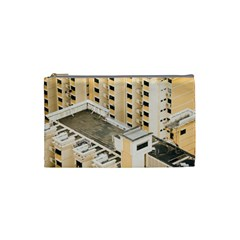 Apartments Architecture Building Cosmetic Bag (Small)