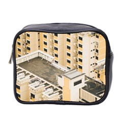 Apartments Architecture Building Mini Toiletries Bag 2 Side