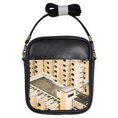 Apartments Architecture Building Girls Sling Bags