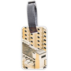 Apartments Architecture Building Luggage Tags (two Sides)
