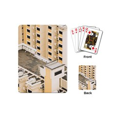 Apartments Architecture Building Playing Cards (mini)