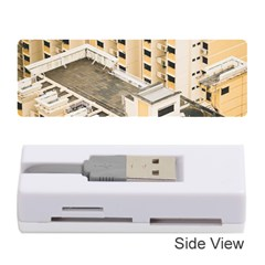Apartments Architecture Building Memory Card Reader (stick)