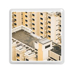 Apartments Architecture Building Memory Card Reader (square)