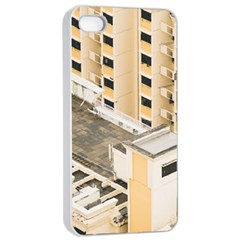 Apartments Architecture Building Apple Iphone 4/4s Seamless Case (white)