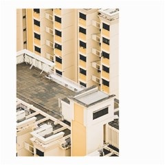 Apartments Architecture Building Small Garden Flag (two Sides)