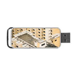 Apartments Architecture Building Portable Usb Flash (two Sides)