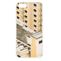 Apartments Architecture Building Apple Iphone 5 Seamless Case (white)