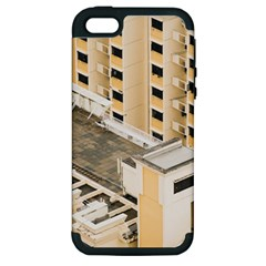 Apartments Architecture Building Apple Iphone 5 Hardshell Case (pc+silicone)