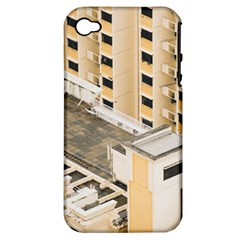 Apartments Architecture Building Apple Iphone 4/4s Hardshell Case (pc+silicone)