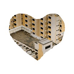Apartments Architecture Building Standard 16  Premium Heart Shape Cushions