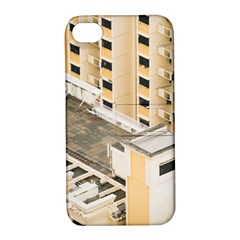 Apartments Architecture Building Apple Iphone 4/4s Hardshell Case With Stand