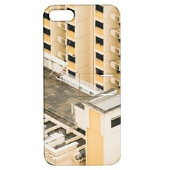 Apartments Architecture Building Apple Iphone 5 Hardshell Case With Stand