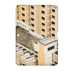 Apartments Architecture Building Samsung Galaxy Tab 2 (10 1 ) P5100 Hardshell Case