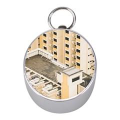 Apartments Architecture Building Mini Silver Compasses