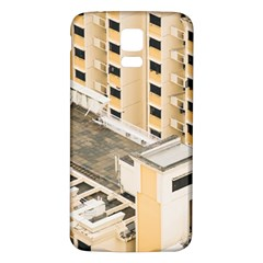 Apartments Architecture Building Samsung Galaxy S5 Back Case (white)