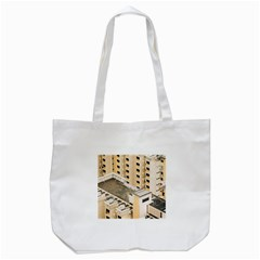 Apartments Architecture Building Tote Bag (white)