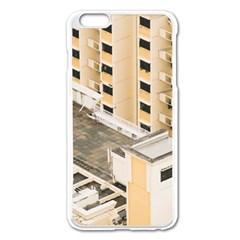 Apartments Architecture Building Apple Iphone 6 Plus/6s Plus Enamel White Case