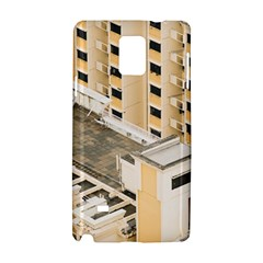 Apartments Architecture Building Samsung Galaxy Note 4 Hardshell Case