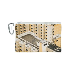 Apartments Architecture Building Canvas Cosmetic Bag (s)