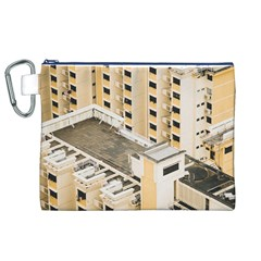 Apartments Architecture Building Canvas Cosmetic Bag (xl)