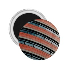 Architecture Building Glass Pattern 2.25  Magnets