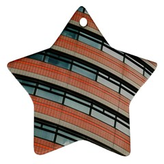 Architecture Building Glass Pattern Ornament (star)
