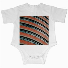 Architecture Building Glass Pattern Infant Creepers