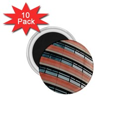 Architecture Building Glass Pattern 1 75  Magnets (10 Pack)
