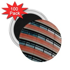 Architecture Building Glass Pattern 2 25  Magnets (100 Pack)